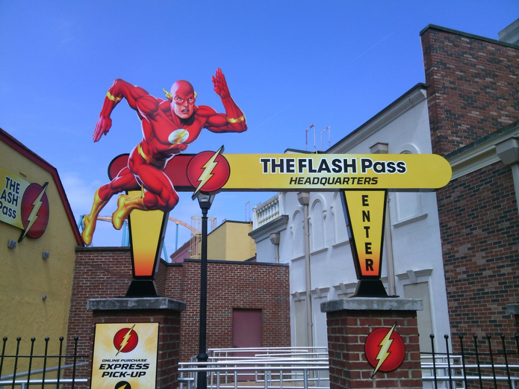 Flash Pass At Six Flags Over Georgia